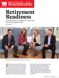 "Cover image for ""ROUNDTABLE - Retirement Readiness"" PDF"
